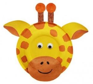 żyrafa praca plastyczna