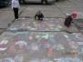 WARSZTATY PLASTYCZNE W PLENERZE - RYSOWANIE KREDĄ 13.06.2012